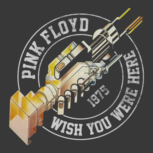 Pink Floyd T-Shirt | Wish You Were Here Tour '75 Pink Floyd Shirt (Reissue)