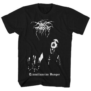 Darkthrone Dark Throne T-Shirt | Transilvanian Hunger Album Art Dark Throne Shirt