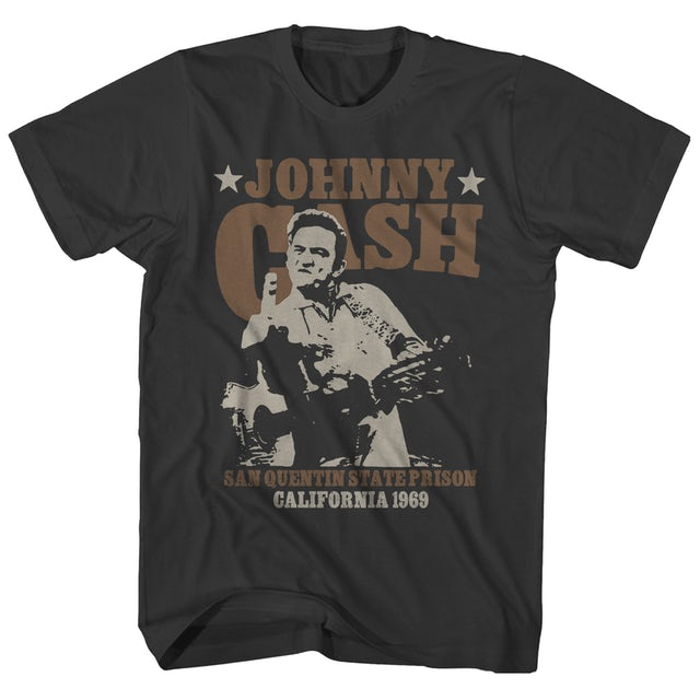 Johnny Cash T-Shirt | Live At San Quentin '69 Johnny Cash Shirt