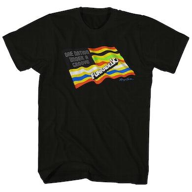 Parliament T-Shirt | One Nation Under A Groove Parliament Shirt