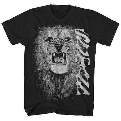 T-Shirt   White Lion Art Album Cover Santana T-Shirt