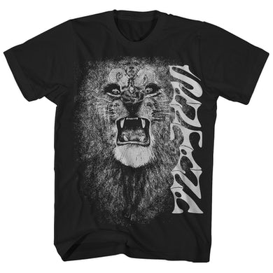 Santana T-Shirt | White Lion Art Album Cover Santana T-Shirt