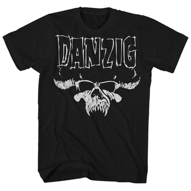 T-Shirt | Official Skull Logo Danzig Shirt