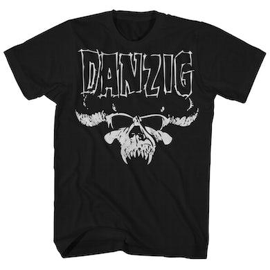 Danzig T-Shirt | Official Skull Logo Danzig Shirt