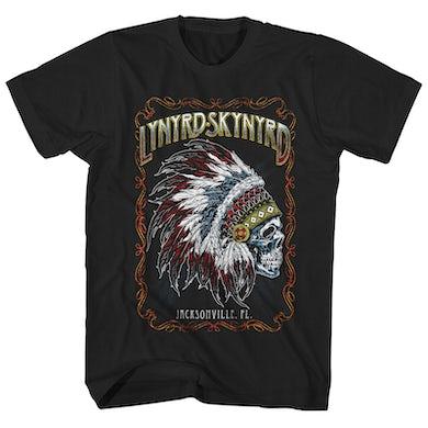 T-Shirt | Jacksonville Chieftain Lynyrd Skynyrd Shirt