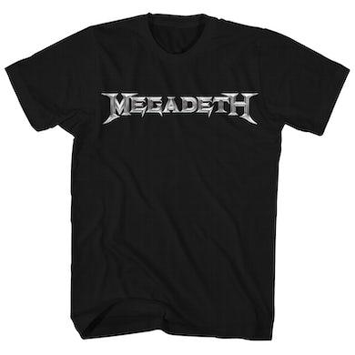 Megadeth T-Shirt   Band Logo Megadeth Shirt