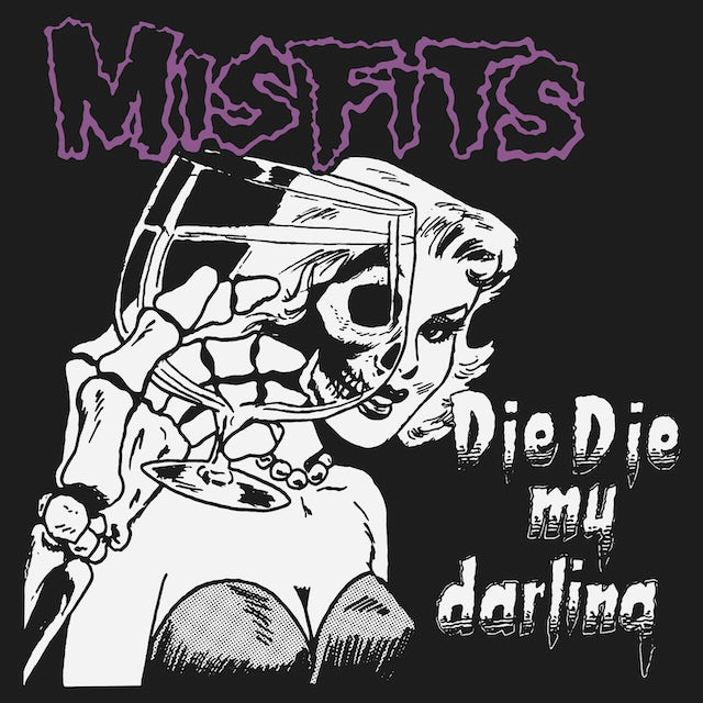 The Misfits T-Shirt | Die Die My Darling Art Misfits Shirt