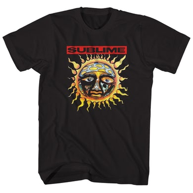 Sublime T-Shirt | Official Sun Logo Sublime Shirt