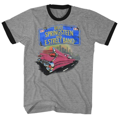 Bruce Springsteen T-Shirt | Born In The USA Tour '84 Bruce Springsteen Shirt (Reissue)