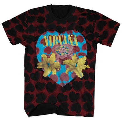 Nirvana T-Shirt | Heart Shaped Box Nirvana Shirt