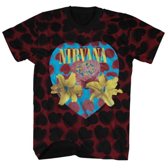Nirvana T-Shirt | Heart Shaped Box Nirvana Shirt