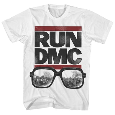 T-Shirt | Classic Logo & Glasses Run DMC Shirt
