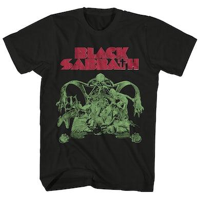Black Sabbath T-Shirt | Sabbath Bloody Sabbath Album Art Black Sabbath Shirt