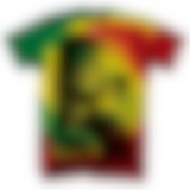 Bob Marley T-Shirt | Rasta Smoke Tie Dye Bob Marley Shirt