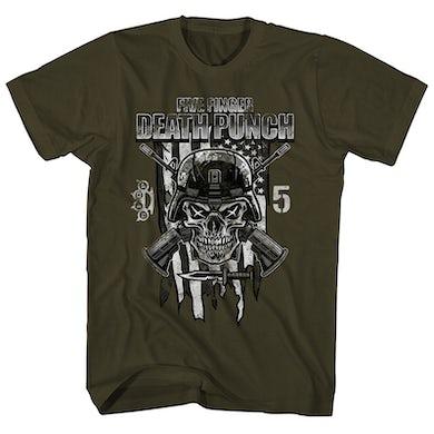 Five Finger Death Punch T-Shirt | Infantry Special Forces Five Finger Death Punch Shirt