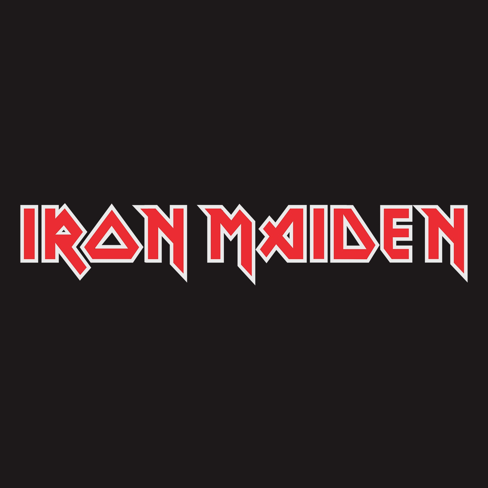 Iron Maiden T Shirt Debut Album 40Th Anniversary Logo Nouveau Officiel Homme