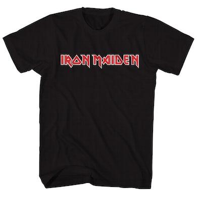 Iron Maiden T-Shirt | Official Logo Iron Maiden Shirt