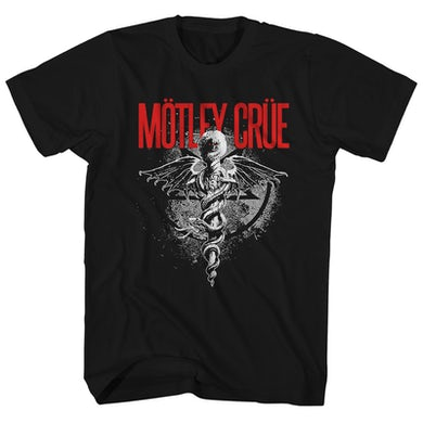 Motley Crue T-Shirt | Dr. Feelgood Logo Motley Crue Shirt