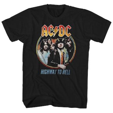 AC/DC T-Shirt | Highway To Hell Emblem AC/DC Shirt