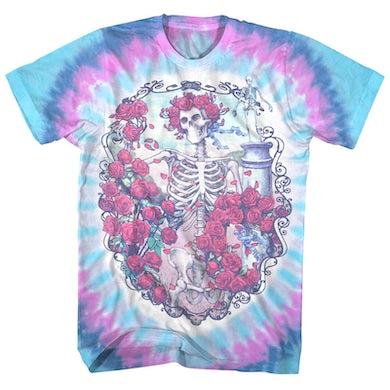 Grateful Dead T-Shirt | Vintage Bertha 30 Years Celebration Tie Dye Grateful Dead Shirt