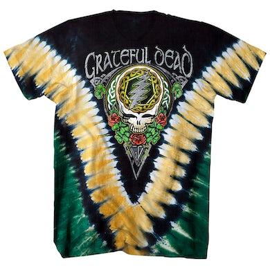 Grateful Dead T-Shirt | Shamrock Tie Dye Grateful Dead Shirt