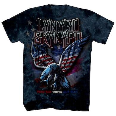 Lynyrd Skynyrd T-Shirt | Red White & Blue Eagle Tie Dye Lynyrd Skynyrd Shirt
