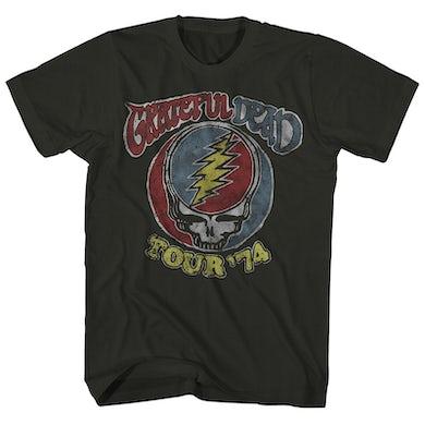 Grateful Dead T-Shirt | Vintage '74 Tour Grateful Dead Shirt (Reissue)
