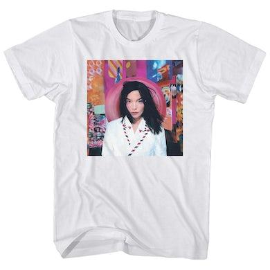 Bjork T-Shirt   Post Album Art Bjork Shirt