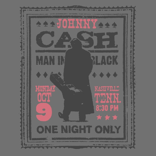 Johnny Cash T-Shirt | One Night Only Johnny Cash Shirt