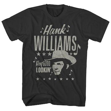 Hank Williams T-Shirt | Hey Good Lookin' Hank Williams Shirt