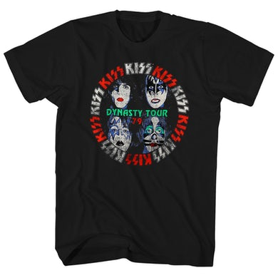 KISS T-Shirt | Dynasty Tour '79 KISS Shirt (Reissue)