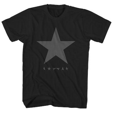 David Bowie T-Shirt | Blackstar Album Logo David Bowie Shirt