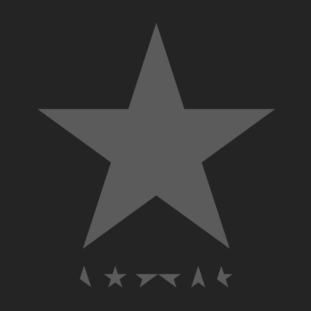 David Bowie T-Shirt | Blackstar Album Logo David Bowie Shirt