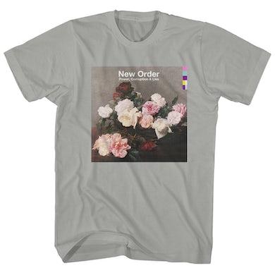 New Order T-Shirt | Power, Corruption & Lies Album Art New Order Shirt