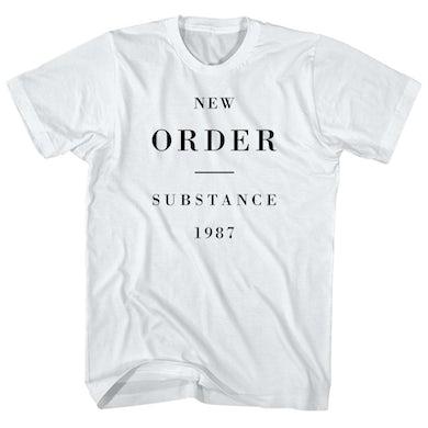New Order T-Shirt | Substance 1987 Album Art New Order Shirt