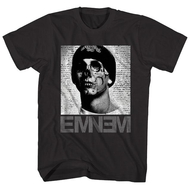 Eminem T-Shirt | Slim Shady Skull Eminem Shirt