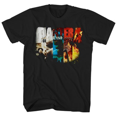 Pantera T-Shirt | Album Art Collage Pantera Shirt