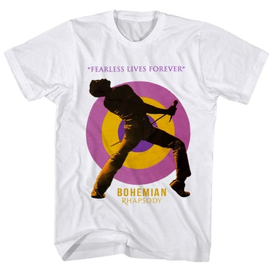 Queen T-Shirt | Fearless Freddie Forever Queen Shirt