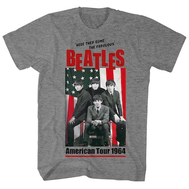 The Beatles T-Shirt | American Tour 1964 Title Shirt (Reissue)