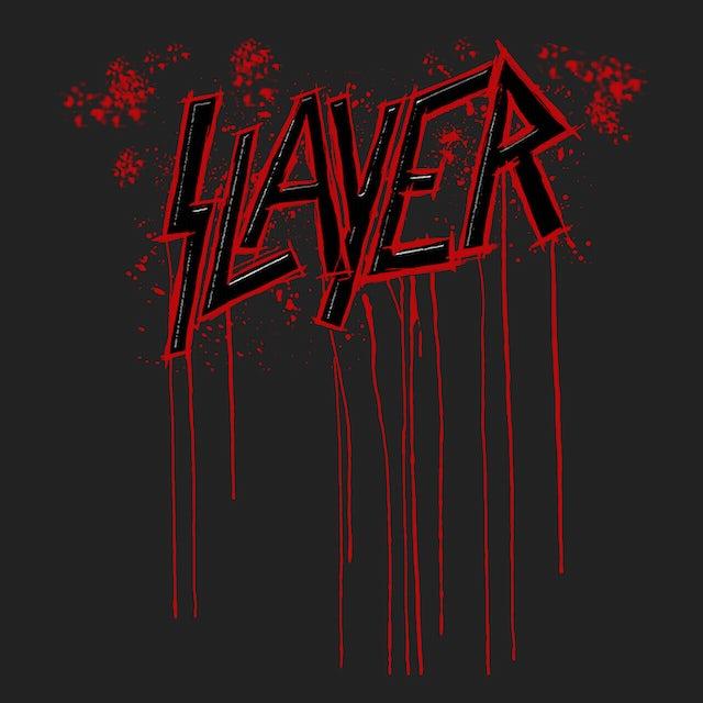 Slayer T-Shirt   Raining Blood Drip Tie Dye Slayer Shirt