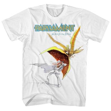 Parliament T-Shirt | Motor Booty Affair Album Art Parliament Shirt