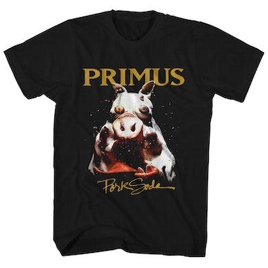 Primus T-Shirt   Pork Soda Album Art Primus Shirt