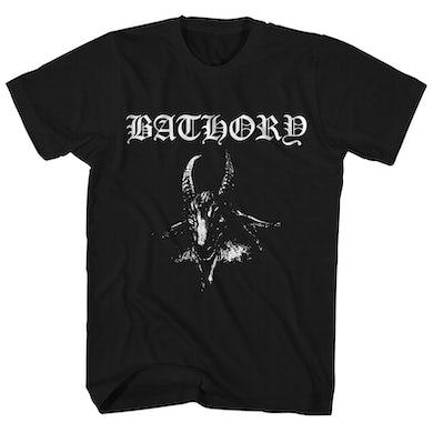 Bathory T-Shirt | Goat Pentagram Bathory Shirt