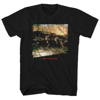 Bathory T-Shirt | Blood Fire Death Album Art Bathory Shirt