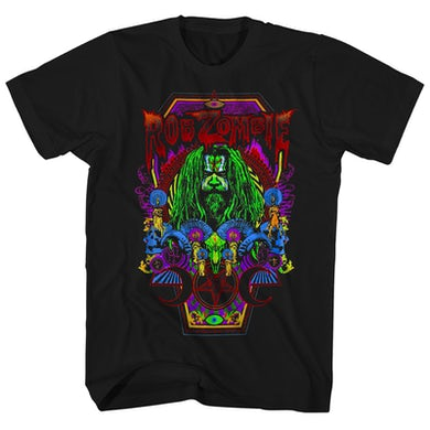 T-Shirt | Necropolis Coffin Rob Zombie Shirt