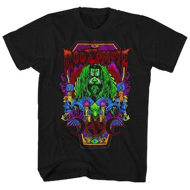Rob Zombie T-Shirt | Necropolis Coffin Rob Zombie Shirt