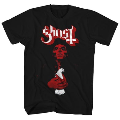 Ghost T-Shirt | Red Cardinal Dove Ghost Shirt