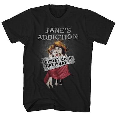 Jane's Addiction Jane's Addiction T-Shirt | Ritual de lo Habitual Album Art Jane's Addiction Shirt