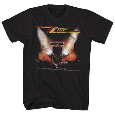 ZZ Top T-Shirt | Eliminator Album Art ZZ Top Shirt