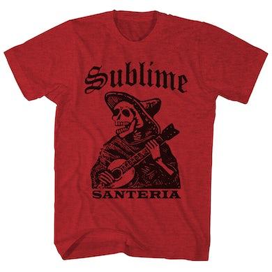 Sublime T-Shirt | Santeria Skeleton Sublime Shirt